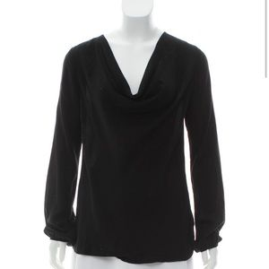 Theory long sleeve blouse